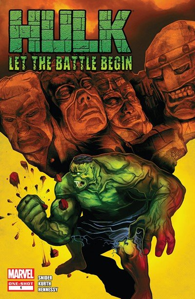 Hulk – Let The Battle Begin #1 (2010)