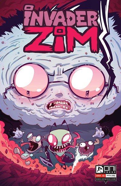 Invader Zim #1 – 16 + TPB Vol. 1 – 3 (2015-2016)
