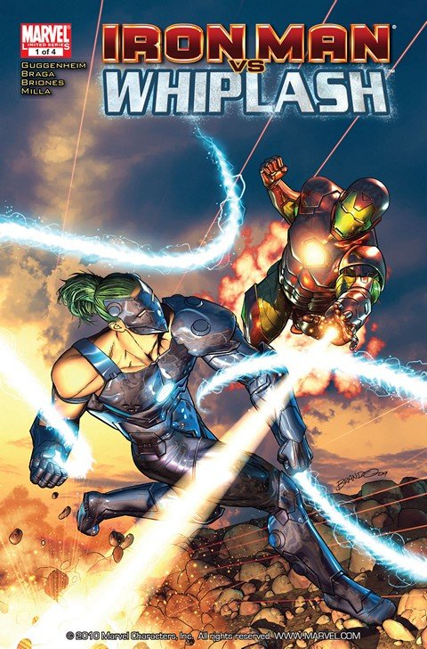 Iron Man vs. Whiplash #1 – 4 + TPB (2010)