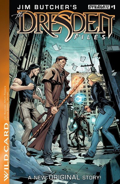 Jim Butcher's The Dresden Files – Wild Card #1 – 5 (2016)