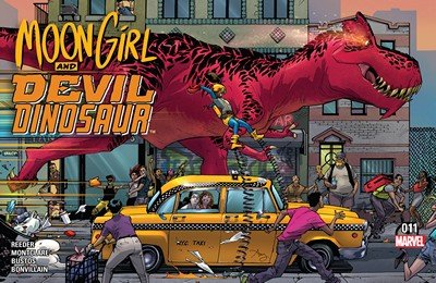 Moon Girl and Devil Dinosaur #11 (2016)