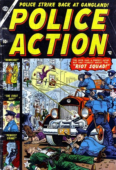 Police Action #1 – 7 (1953-1955)