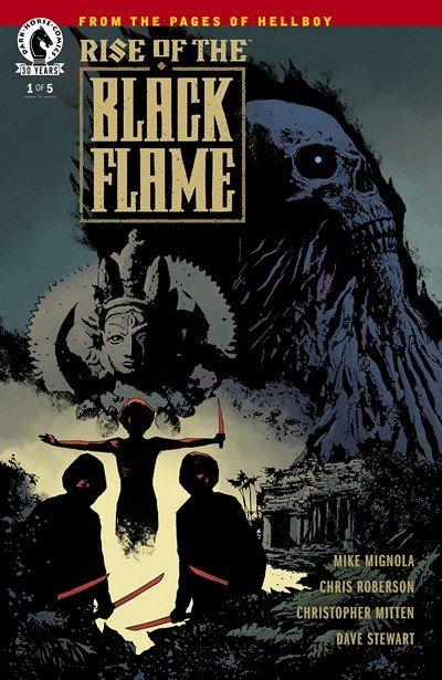 Rise of the Black Flame #1 – 5 (2016-2017)