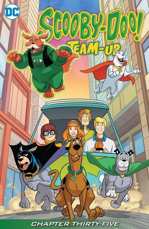 Scooby-Doo Team-Up #35 (2016)