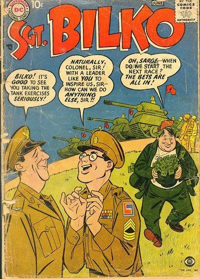 Sergeant Bilko #1 – 18 + Sergeant Bilko's Private Doberman #1 – 11