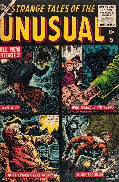 Strange Tales of the Unusual #1 – 11 (1955-1957)