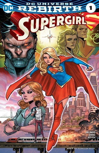 Supergirl #1 (2016)