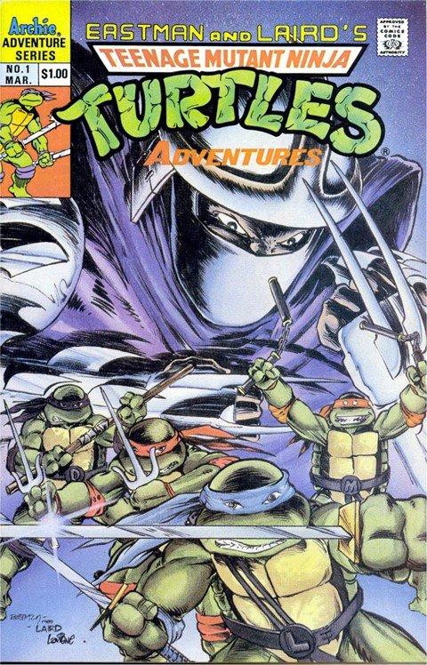 Teenage Mutant Ninja Turtles #1 – 70 + Extras (Archie) (1993-1995)
