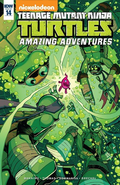 Teenage Mutant Ninja Turtles – Amazing Adventures #14 (2016)