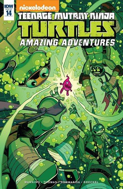 Teenage Mutant Ninja Turtles – Amazing Adventures #14 (2016)