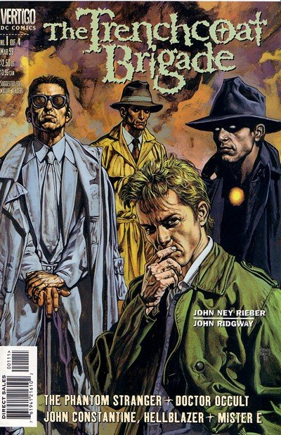 The Trenchcoat Brigade #1 – 4