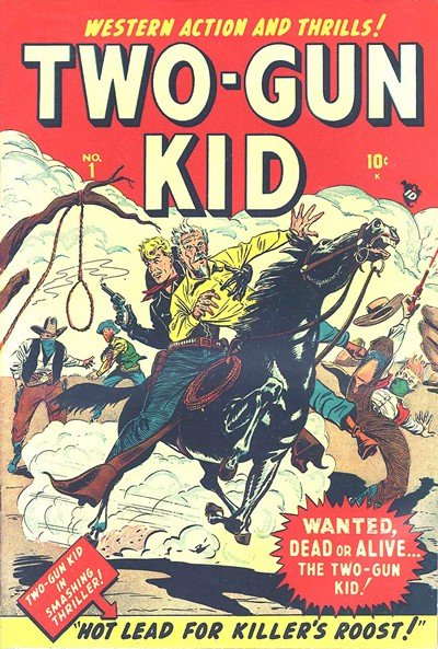 Two-Gun Kid #1 – 136 (1948-1977)