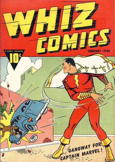 Whiz Comics #2 – 155 (1940-1953)