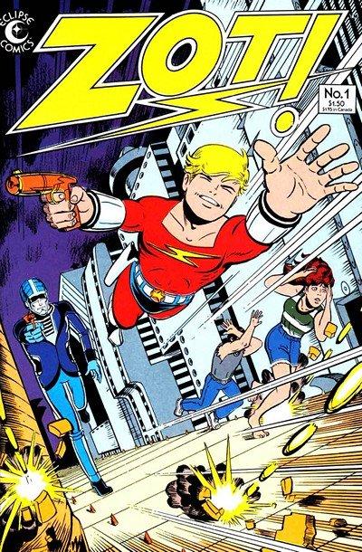 Zot! #1 – 36 (Eclipse) (1984-1991)