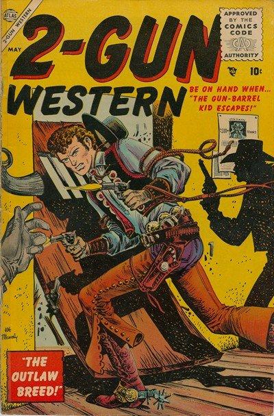2 Gun Western #4 (1956)