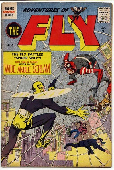 Adventures of The Fly #1 – 30 (1959-1966)