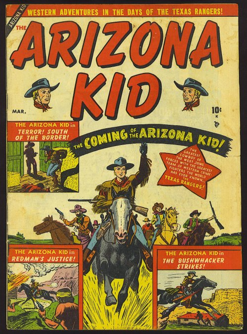 Arizona Kid #1 – 6 (1951-1952)