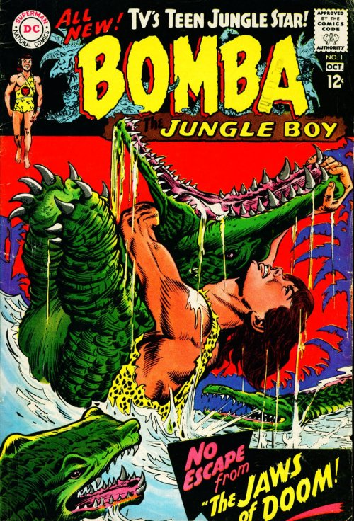 Bomba the Jungle Boy #1 – 7 (1967-1968)