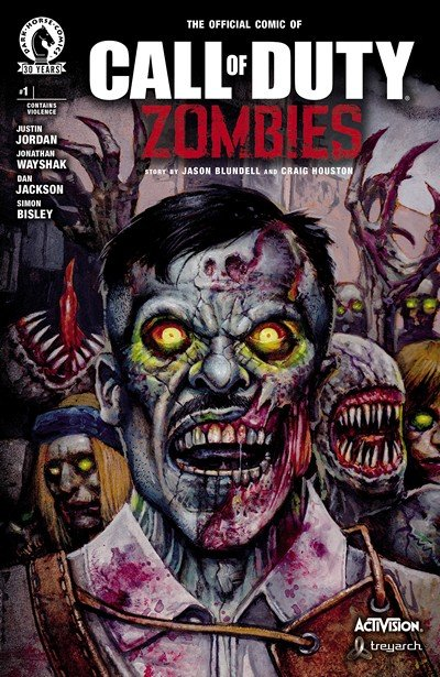 Call of Duty – Zombies #1 (2016)
