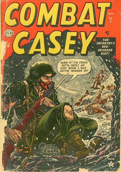 Combat Casey #6 – 34 (1953-1957)