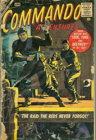 Commando Adventures #1 – 2 (1957)
