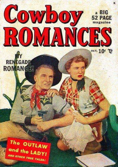 Cowboy Romances #1 – 3 (1949-1950)