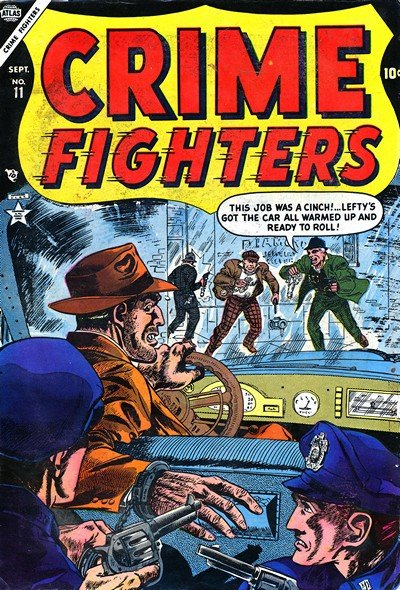 Crime Fighters #1 – 13 (1948-1955)