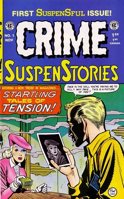 Crime SuspenStories #1 – 27 (1950-1955)