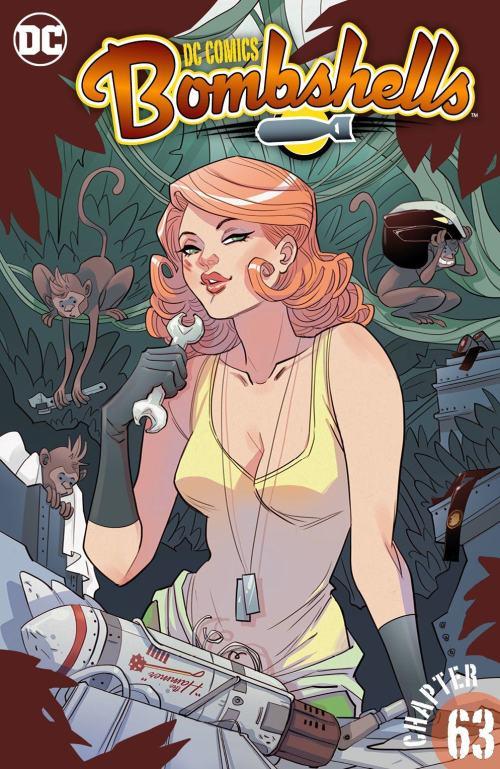 DC Comics – Bombshells #63 (2016)