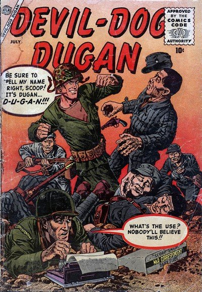 Devil-Dog Dugan #1 – 3 (1956-1959)