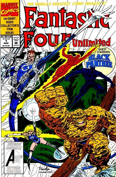 Fantastic Four Unlimited #1 – 12 (1993-1995)