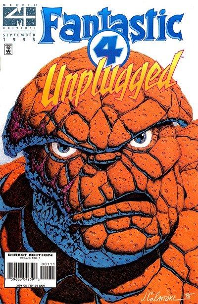 Fantastic Four Unplugged #1 – 6 (1995-1996)