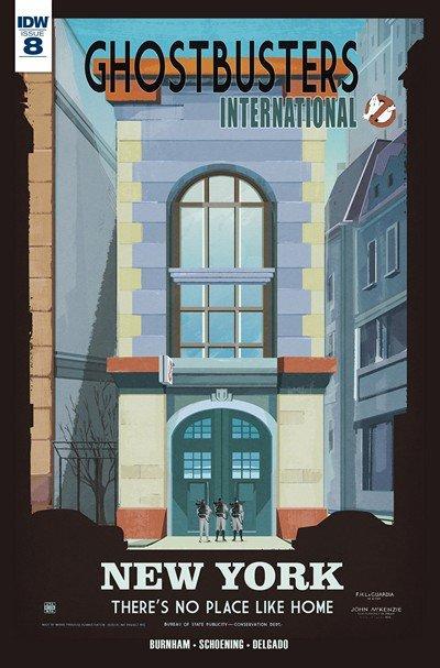 Ghostbusters International #8 (2016)