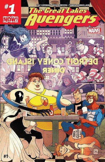 Great Lakes Avengers #1 – 7 (2016-2017)