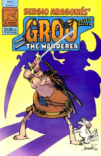 Groo the Wanderer Vol. 1 #1 – 8 (1982-1984)