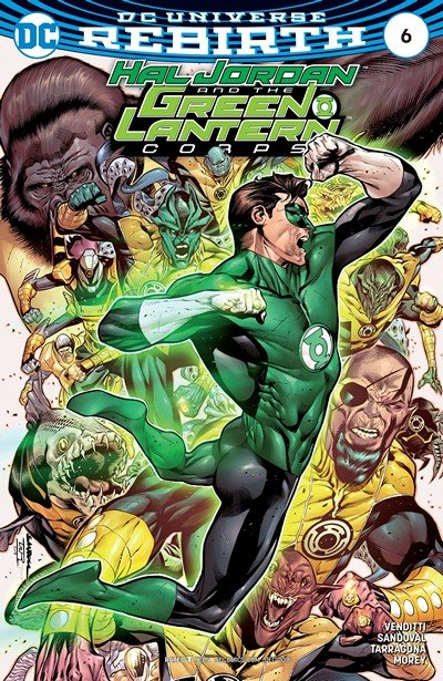 Hal Jordan and the Green Lantern Corps #6 (2016)