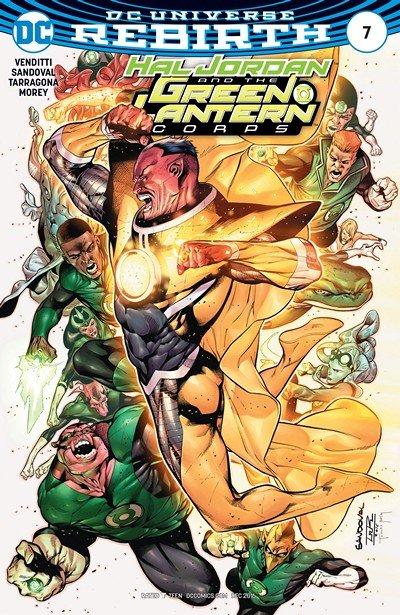 Hal Jordan and the Green Lantern Corps #7 (2016)