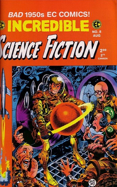 Incredible Science Fiction #30 – 33 (1955-1956)