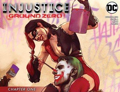 Injustice – Ground Zero #1 (2016)