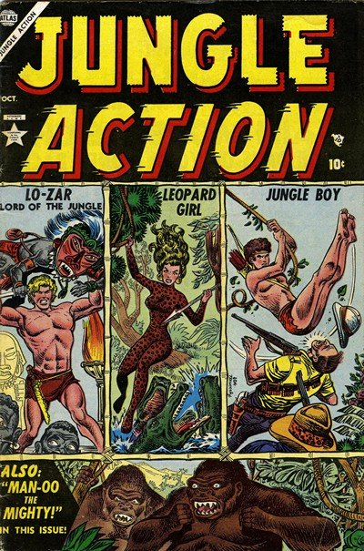 Jungle Action Vol. 1 – 2 (1954-1976)