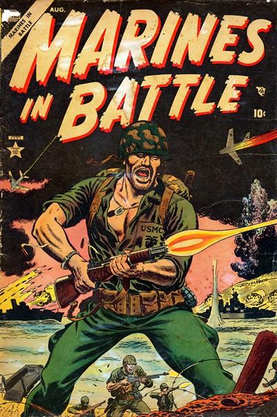 Marines in Battle Vol. 1 #1 – 23 (1956-1959)