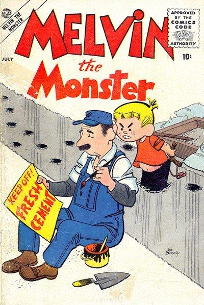 Melvin The Monster Vol. 1 #1 – 6 (1956-1957)