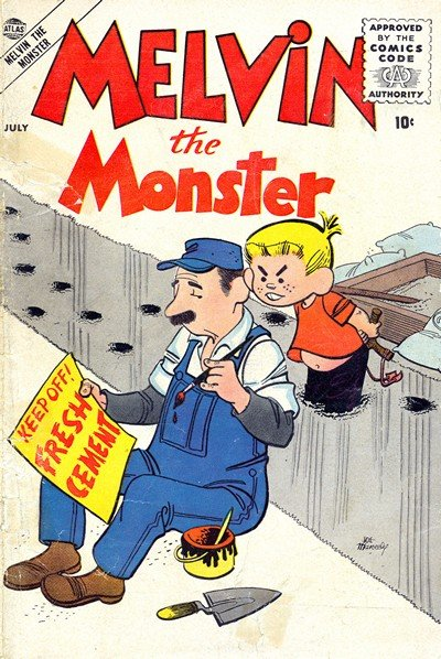 Melvin The Monster Vol. 1 #1 – 6 (1956-1957)