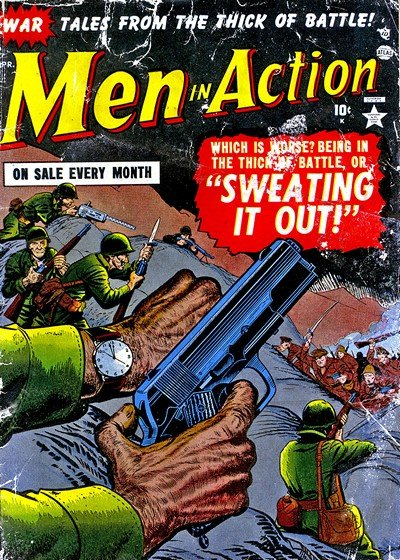 Men In Action Vol. 1 #1 – 9 (1952)