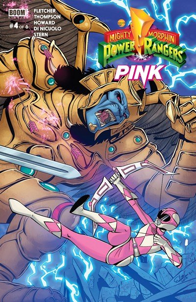 Mighty Morphin Power Rangers – Pink #4 (2016)
