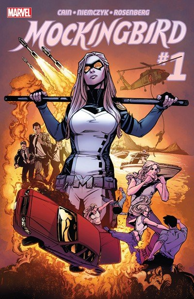 Mockingbird #1 – 8 (2016)