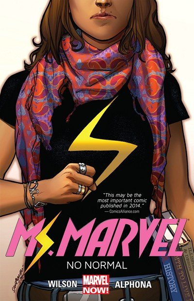 Ms. Marvel Vol. 1 – 9 (TPB) (2014-2018)