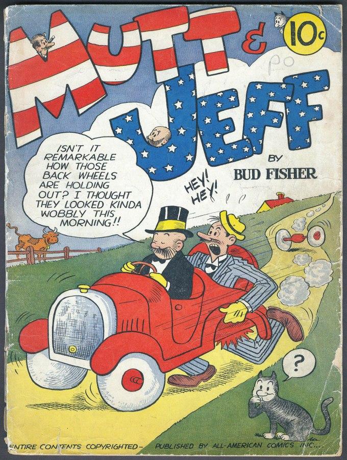 Mutt and Jeff #1 – 108 (1939-2016)