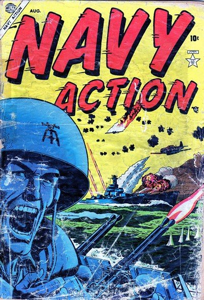 Navy Action #1 – 15 (1955-1956)