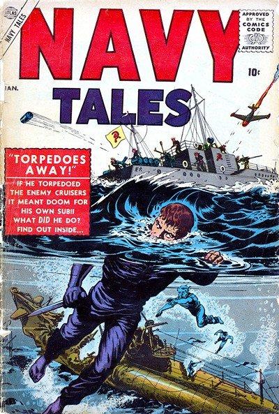 Navy Tales #1 – 4 (1957)